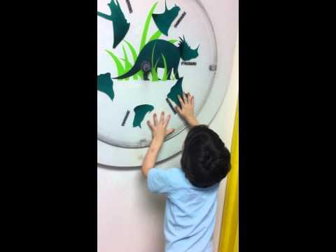 Merrick & Horned Dinosaur Wheel