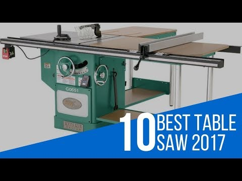 10 Best Table Saw Reviews 2017