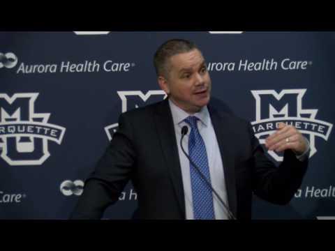 Chris Holtmann Postgame - Butler 68, Marquette 65. Feb. 7, 2016