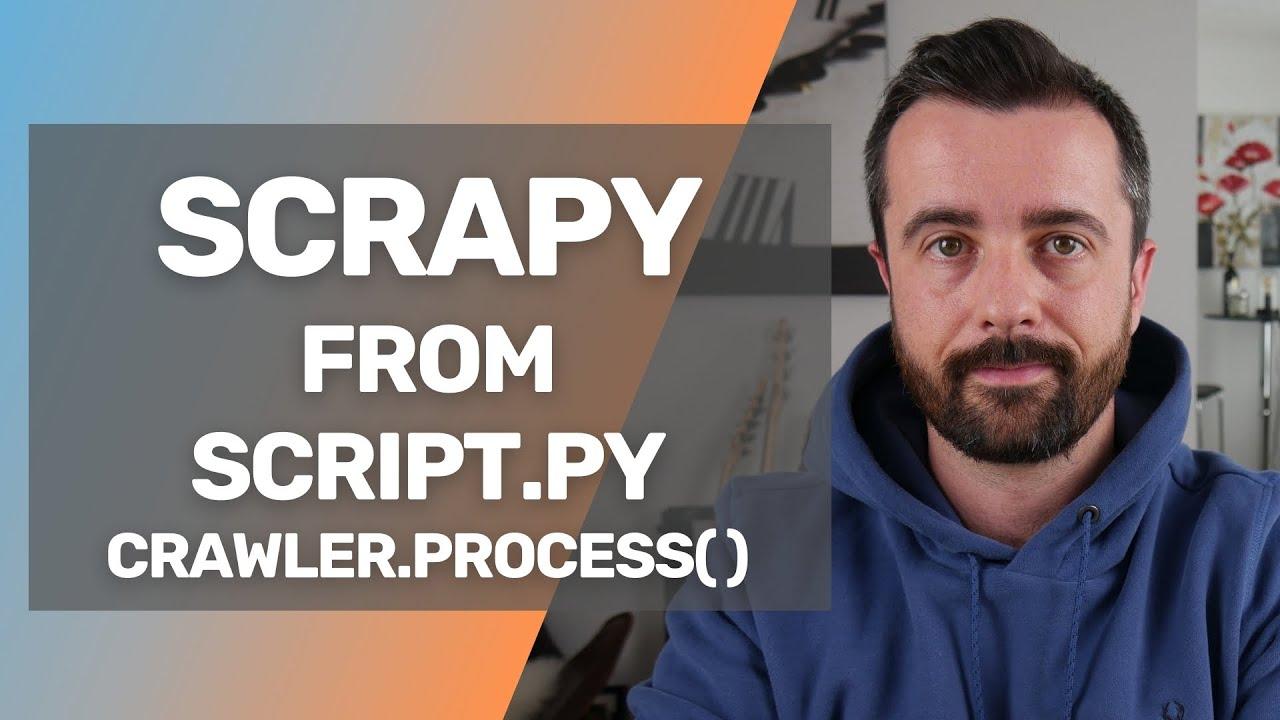 Scrapy From one Script: ProcessCrawler