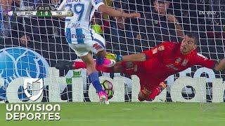 Nahuel Guzmán se 'come' el 1-0 de Pachuca sobre Tigres