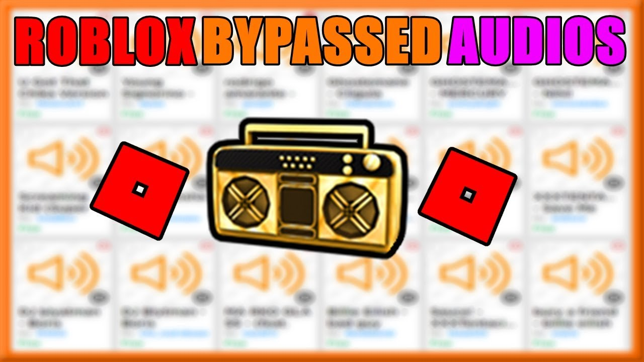 Roblox Bypassed Audios Tons Of Codes 2019 By Hazko