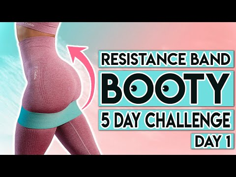 day-1-|-5-day-resistance-band-booty-challenge-🍑-|-at-home-workout