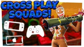 Fortnite: Season 5 GUIDED MISSILE RETURNS!   CROSSPLAY SQUADS   iOS, Xbox, Switch!
