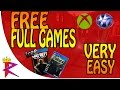 How to get FREE Ps4/Ps3/Xbox one/Xbox 360 Full Games playstation plus xbox live FREE