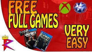how to get free ps4 ps3 xbox one xbox 360 full games playstation plus xbox live free