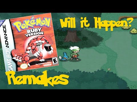 Pokemon Ruby and Sapphire Remake - Will It Ever Happen?
