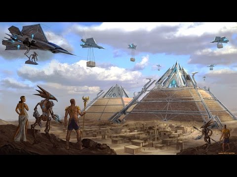 The Relationship Between The Pyramid With Aliens