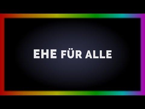 Ehe für alle in Deutschland 30.06.2017 - Homosexuelle sind gleichberechtigt - deutsche Geschichte