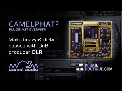 CamelPhat Multi Effect VST - Make Phat DnB Basses