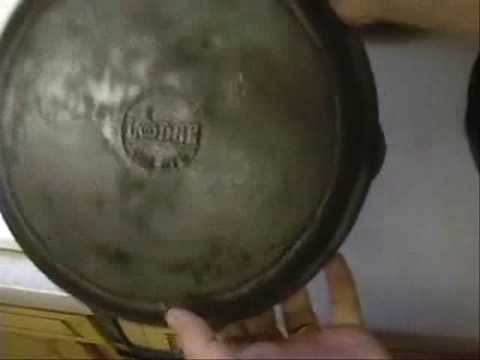 dating cast iron cookware