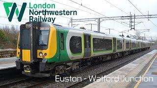 Northwestern Railway   Class 350 - London Euston to Watford Junction (Fast)