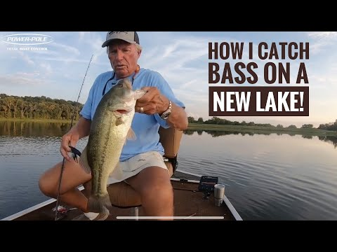 How I Catch Bass On A New Lake!