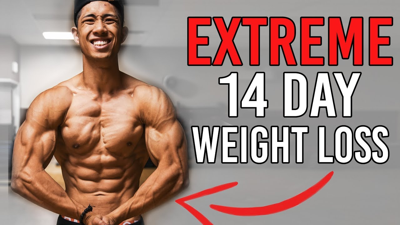 extreme fat burning diet and workout plan