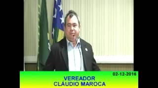 Claudio Maroca Pronunciamento 02 12 16