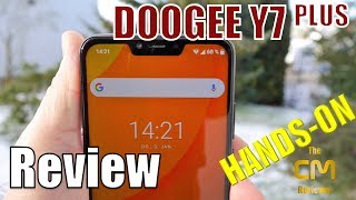 DOOGEE Y7 Plus Test: 6,18 inch 19:9 Notch Display Smartphone - Hands...