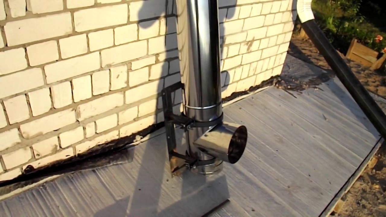Крепеж для дымохода самодельный как сложить дымохода камина из кирпича