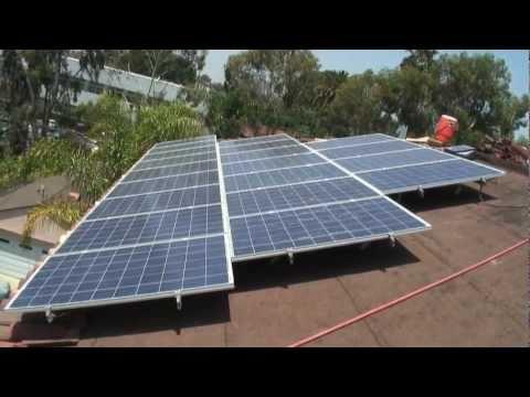 Modern Roofing - Solar Energy Install