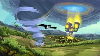 Tornado Outbreak (Xbox 360) ep 2 (Coop con Domkor): Chicken Con Carnage
