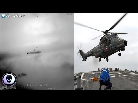 """ASTONISHING"" UFO Clip Released By Chilean Navy! 1/6/17"