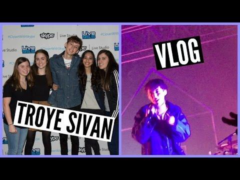 Meeting Troye Sivan! // Concert Vlog ♡