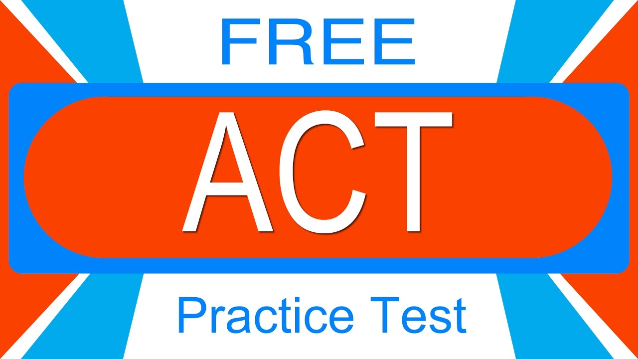 Best Free Act Practice Test Youtube