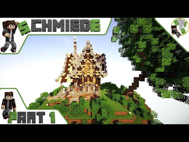 Minecraft kleine Schmiede Bauen/Tutorial Deutsch Part 1