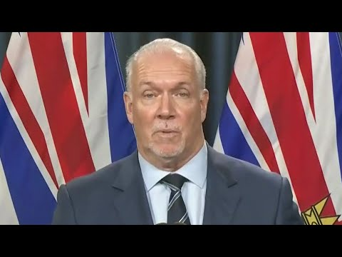 B.C. Premier Horgan on the defensive over 4th wave when asked what Ont. did differently