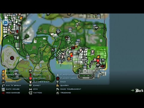 How To Unlock Full Map In Gta San Andreas Android