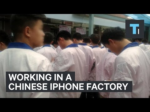 Thumbnail: This man worked undercover in a Chinese iPhone factory