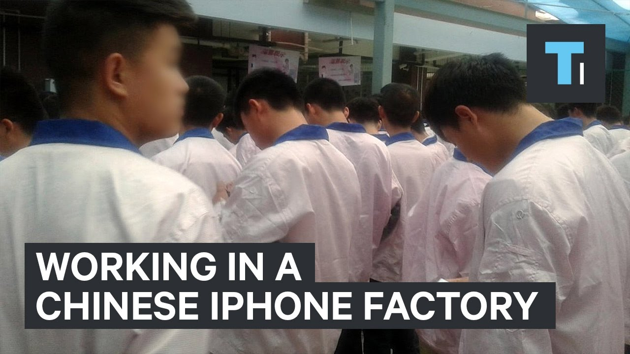 This man worked undercover in a Chinese iPhone factory