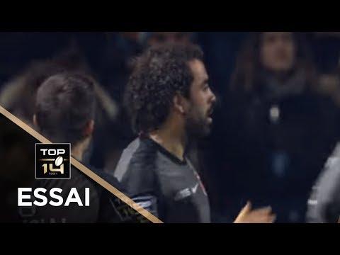 TOP 14 - Essai Yoann HUGET 2 (ST) - Toulouse - Paris - J11 - Saison 2018/2019