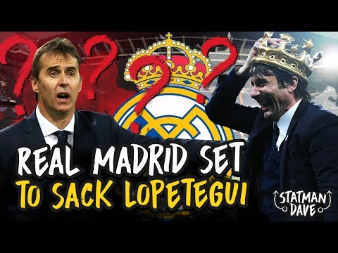 Real Madrid To Sack Lopetegui & Bring in Former Chelsea Manager Antonio Conte?!?! Mp3