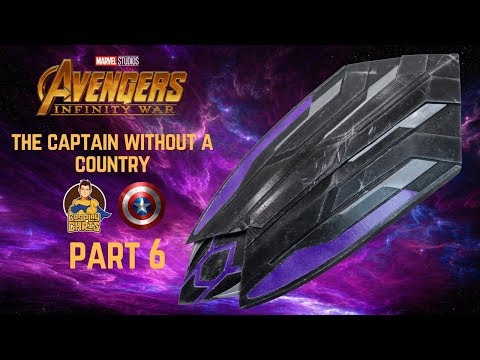 The Captain Without a Country- Part 6: 3D Printed Wakanda Shield!