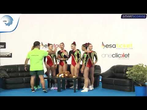 REPLAY: 2017 Aerobics Europeans - Junior FINAL Groups, plus medal ceremony