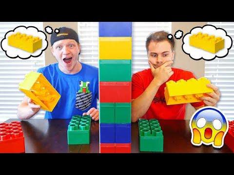 TWIN TELEPATHY CHALLENGE! BEST FRIEND vs UNSPEAKABLE!