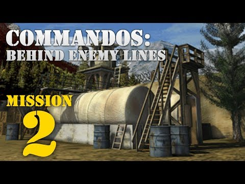 Commandos: Behind Enemy Lines -- Mission 2: A Quiet Blow-up