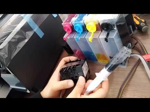 핀프린터 950 DIY/에어작업 하기