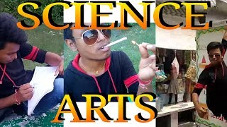 Science vs arts students college bunk new video SRK