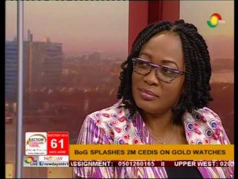 Discussing BoG gold watch saga & GHC100,000 best teacher ward- Newspaper review [full] - 6/10/2016