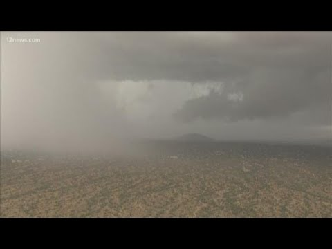 Severe thunderstorm warning issued for Scottsdale, Paradise Valley ...