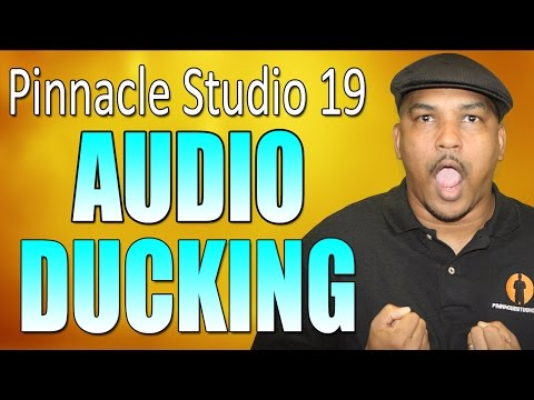 Pinnacle Studio 19 Ultimate - Audio Ducking Tutorial