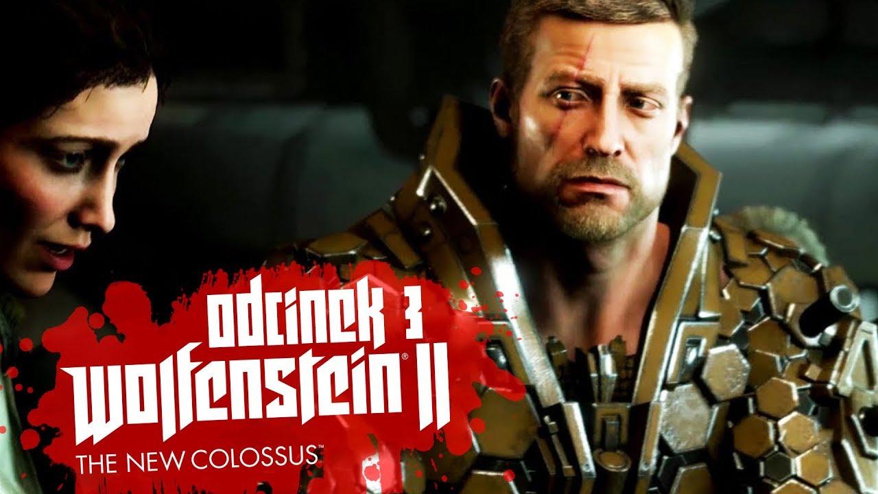 Zagrajmy w Wolfenstein II: The New Colossus #3 – PŁYNIEMY DO NY – PC 4K