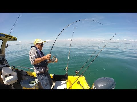 Man Fishing Alone On A Boat | A Solo Adventure - FULL DOCUMENTARY