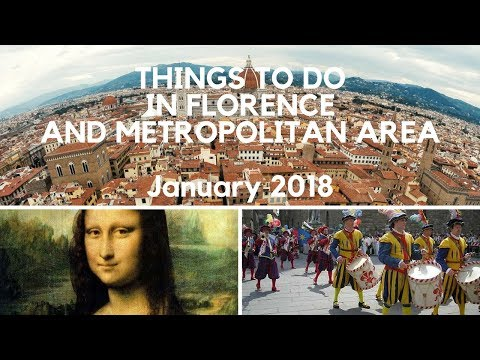 January 2018 events calendar for Florence and the Metropolitan area
