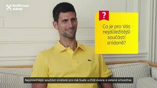 Novak Djokovic - Snídaně (16:9, cztitulky, interview 3)