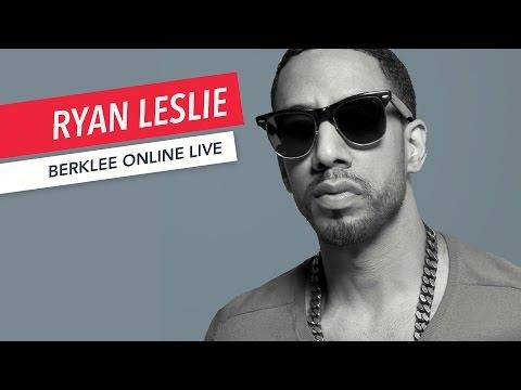 Ryan Leslie: Berklee Online LIVE | Music Business | Q&A | 2017
