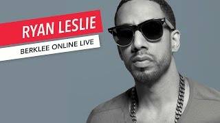 Ryan Leslie: Berklee Online LIVE | Music Business | Q&A | 2017