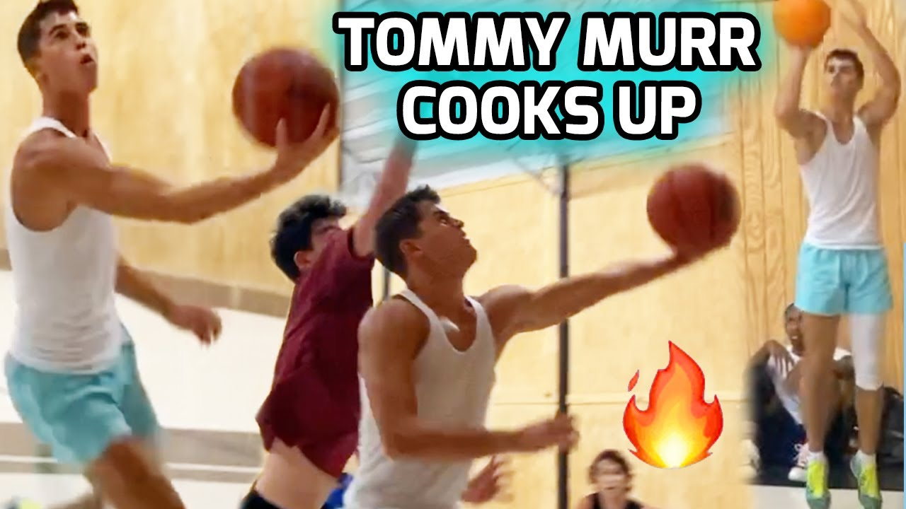 Tommy Murr Gets IN HIS BAG During Intense Offseason Open Run! Looking Ready For DIVISION 1 Hoops 😈