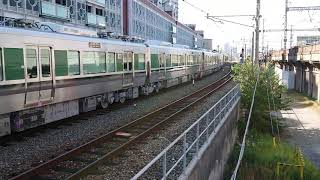 DE10-1561+227系1000番台(甲種輸送列車6B)兵庫駅発車